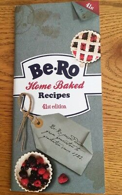 NEW Be-Ro Home Baked Recipe Book 41st Edition - FREEPOST