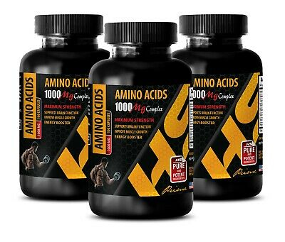 muscle building supplements for men - AMINO ACIDS 1000MG - l amino acids 3B