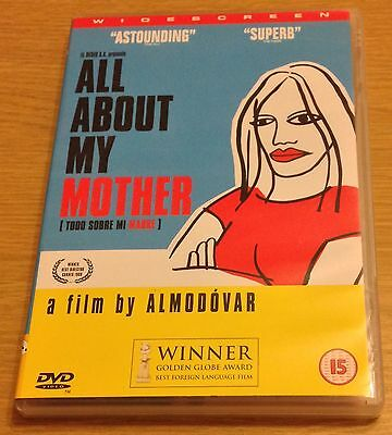 ALL ABOUT MY MOTHER DVD (Region 2)