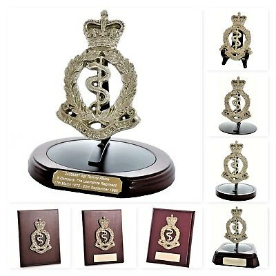 The RAMC: Large Solid Brass Corps Badge - Gift & Presentation Collection