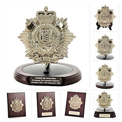 The RLC: Large Solid Brass Corps Badge - Gift & Presentation Collection