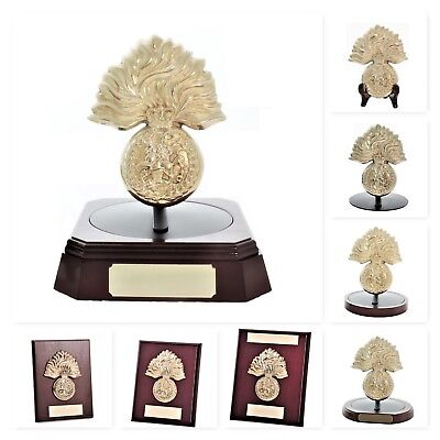 Royal Regiment of Fusiliers - RRF Solid Brass  - Gift & Presentation Collection