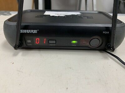 Shure Wireless Microphone Receiver Only PGX4 L5 644-662mhz