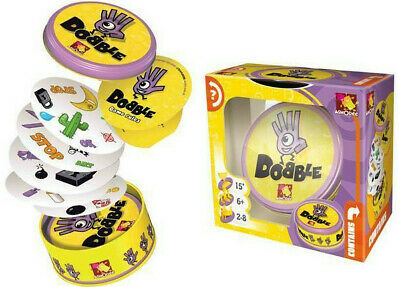 Dobble Funny Family Card Game By Asmodee Spot It, Kids Party