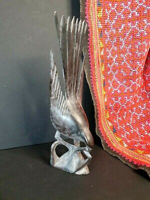 Old Javanese Carved Wooden Bird  …beautiful collection & display piece