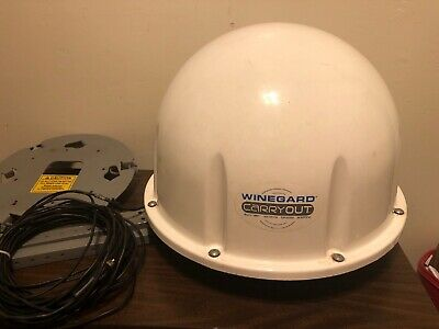 Winegard Carryout Portable  Rv 100% Automatic Satellite Antenna + Stand