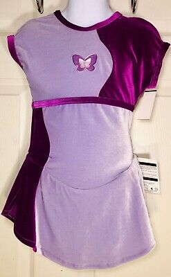 NWT Ice Skating Camisole Empire Line Skate Dress 3 Color Choices Girls Szs 74993