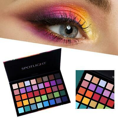 40 Color Shimmer Glitter Eye Shadow Palette Matte Eyeshadow Cosmetic Makeup Tool