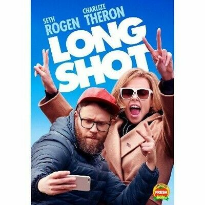 Long Shot (DVD, 2019) Charlize Theron Seth Rogen Comedy Sealed New Free Shipping