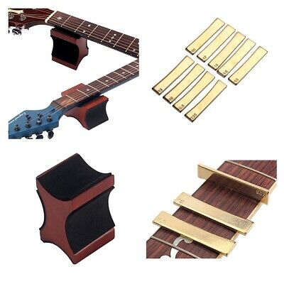 Guitar Neck Rest Guitar Fret Press Inserts Tool for Electric Guitar Accs