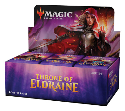 Wizards of the Coast Magic The Gathering Throne of Eldraine 36 Booster Pack -...
