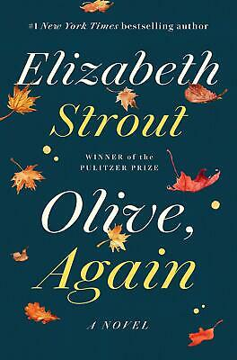 Olive, Again A Novel Hardcover by Elizabeth Strout Family Life Fiction Book NEW