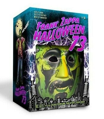 Frank Zappa Halloween 73 Box 4 CD Con Maschera E Guanti Limited Edition Nuovo