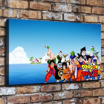 """12""""x22""""Dragon Ball HD Canvas prints Painting Home Decor Picture Room Wall art"""
