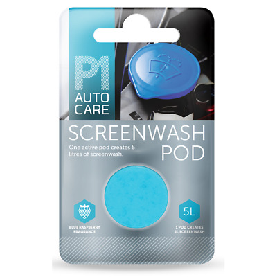 50 Pack x P1 All Year Concentrated Screen Wash Tablet Pod or all Cars & Vehicles