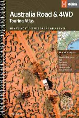 Hema 4WD: Australia Road & 4WD Touring Atlas, 12th Ed. by Various [Spiral Bound]