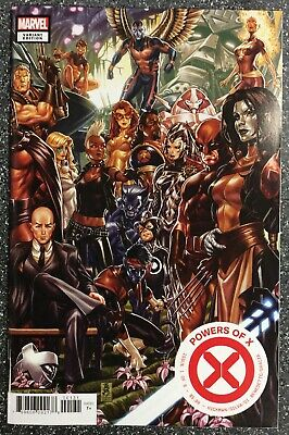 Powers Of X #1 Mark Brooks Connecting Variant