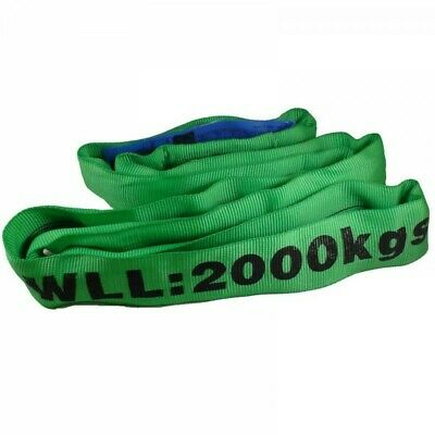2 Tonne Certified Round Lifting Sling, cargo sling, lifting strop endless 2000kg
