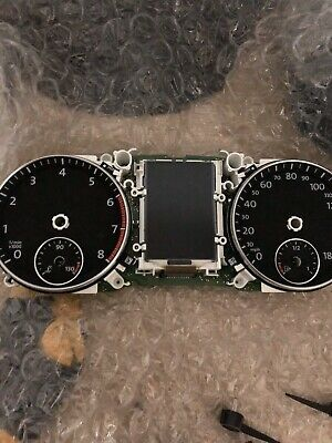 Scirocco Golf Passat  Mk6 Instrument Cluster With Dials