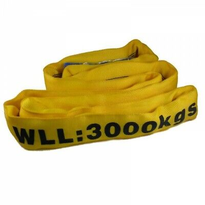 3 Tonne Certified Round Lifting Sling, cargo sling, lifting strop endless 3000kg
