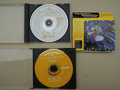 "Vintage JAPAN FUEL PRO SAMPLE CD ROM A3000 ""TWISTED REALITY"" HARADA inis ltd"