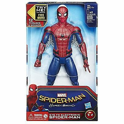 Spiderman EYE FX Electronic Figure 12 Inch Marvel Action Sound Effects Talking