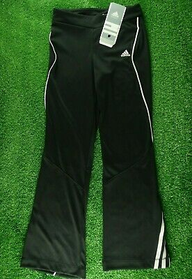 Girls Adidas Climacool Youth Black Jazz Pants P42902 - Age 7-8 Years