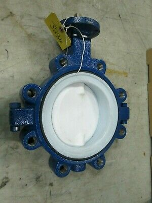 "Keystone Resilient Seat Butterfly Valve Fig# 920 6"" Lug Type (New)"