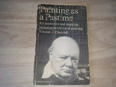 Painting as a Pastime by Winston Churchill 1961 Instructive and Inspiring Invite