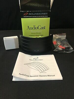 Soundcast AudioCast Wireless Music System Receiver ACR212 Receiver Only New Open