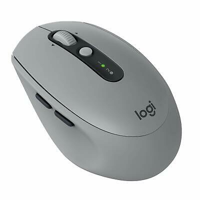Logitech m590 multi-device silent mouse wireless bluetooth e unifyng grigio