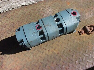 Delta Power Hydraulic P27-60H Rotary Gear Flow Divider Positive Displacement USA