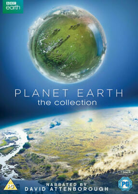 David Attenborough Planet Earth The Collection DVD New & Sealed