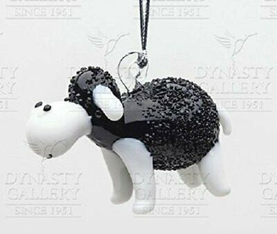 Dynasty Gallery Wildlife Collection Glassdelights Ornament Figurine, Black Sheep