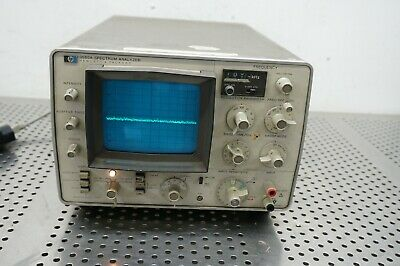 Hewlett Packard HP 3580A 5Hz-50kHz Audio Spectrum Analyzer