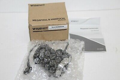 Wisenet Megapixel & Varifocal Security Lens SLA-M2890DN *READ* *LOOK*