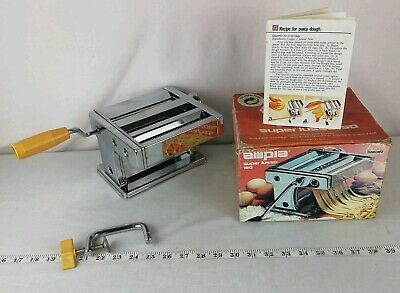 OMC Ampia Model 150 Pasta Noodle Maker Made in Italy, Clean! VGC