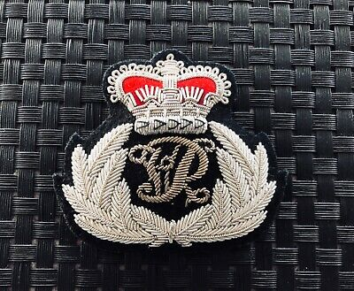 "Victoria Police ""QVC"" COMMISSIONED OFFICER'S BULLION BADGE. *c1880"