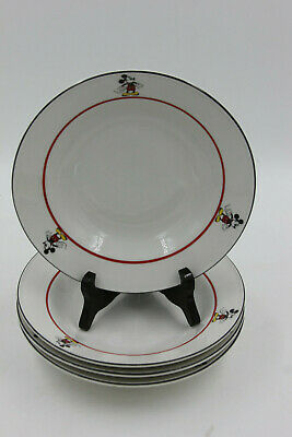 Disney Mickey Mouse soup/salad bowls Gabbay Gibson Overseas Mickey & Co 4 set