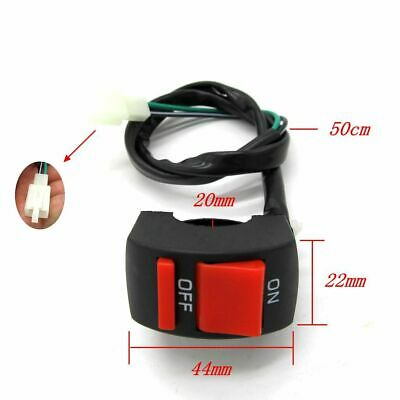 on-off Kill Switch For Scooter ATV Dirt Pit Bike For honda 50cc Motorcycle