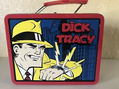 Image result for Dick Tracy lunch box filled with spiders