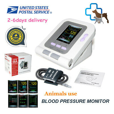 US Seller VET Veterinary Digital Blood Pressure Monitor,NIBP+VET cuff CONTEC08A