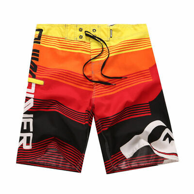 Swim Mens Surf Boardshorts Surfing Trunks Orange Size 28-38 40 42 44