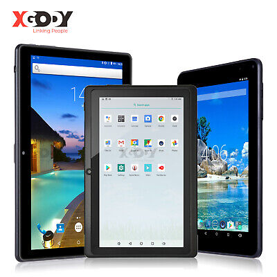 "XGODY 1+16GB Android Tablet PC 7""/9""/10.1'' INCH Quad Core WiFi Bluetooth Camera"