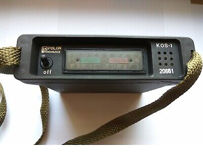 Fully Working And Tested Kos Kos1 Dosimeter Radiation Detector Geiger Counter