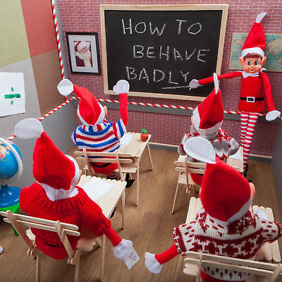 Christmas Elves Behaving Badly Accessories On The Shelf Naughty Elf Set  Props