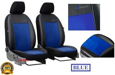 "MAZDA MX-5 Mk3 2005-2015 ECO LEATHER /& ALICANTE /""GT/"" TAILORED FRONT SEAT COVERS"