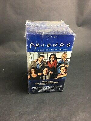 NEW SEALED Friends VHS The Complete First Season