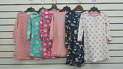 Toddler Girls Carter's Assorted Nightgowns Sizes 2T - 5T