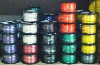 500 Ft Tffn/Tewn Wire. 18 Awg Stranded 600 Volt.  Made In Usa.  7 Color Options